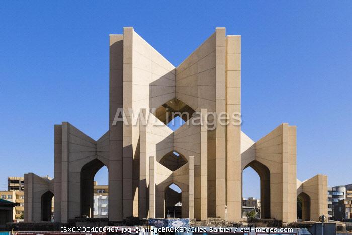 Poet's Mausoleum, Tabriz, Iran, Asia