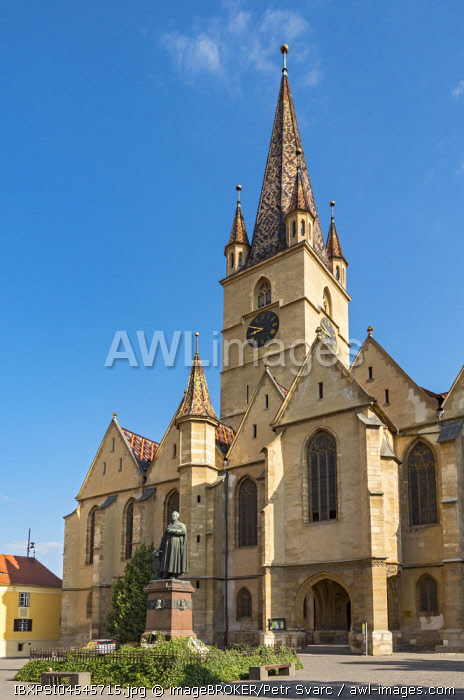 Lutheran Cathedral, Sibiu, Romania, Europe
