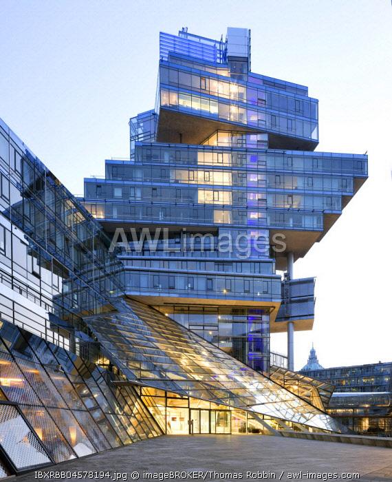 Norddeutsche Landesbank, NordLB, Headquarters, Deconstructivism, Architect Behnisch, Aegidientorplatz, Hanover, Lower Saxony, Germany, Europe