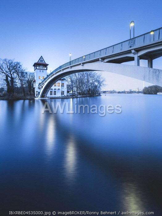 Abteibrücke, Treptower Park, Berlin, Germany, Europe