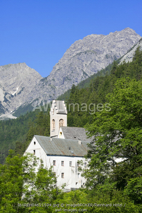 Benedictine Abbey St. Georgenberg, Vomp, Tyrol, Austria, Europe