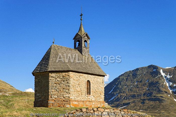 Heart of Jesus Chapel, Bretterboden, Kaiser-Franz-Josefs-Hohe, Carinthia, Austria, Europe