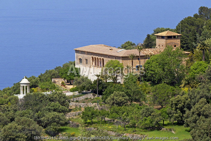 Mansion Son Marroig, Majorca, Spain, Europe