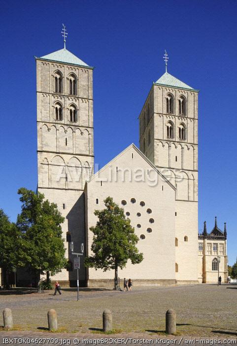St.Paulus-Dom, Cathedral Square, Munster, North Rhine-Westphalia, Germany, Europe