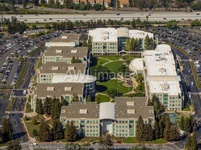 Apple Campus I or Apple Campus 1, Cupertino, Silicon Valley, California, USA, North America