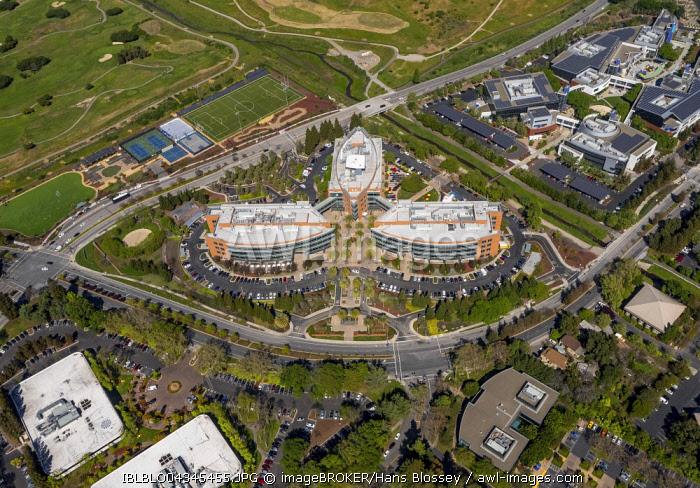 Google headquarters, Googleplex, Mountain View, Silicon Valley, California, USA, North America
