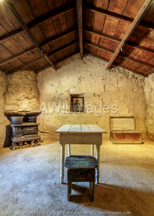First House of Gaiman, interior, The Welsh Settlement, Chubut Province, Patagonia, Argentina