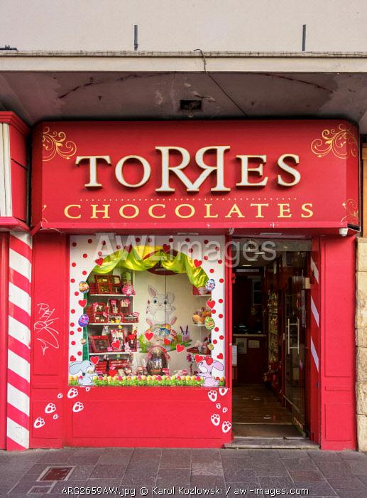 Torres Chocolate Shop, San Carlos de Bariloche, Nahuel Huapi National Park, Rio Negro Province, Argentina