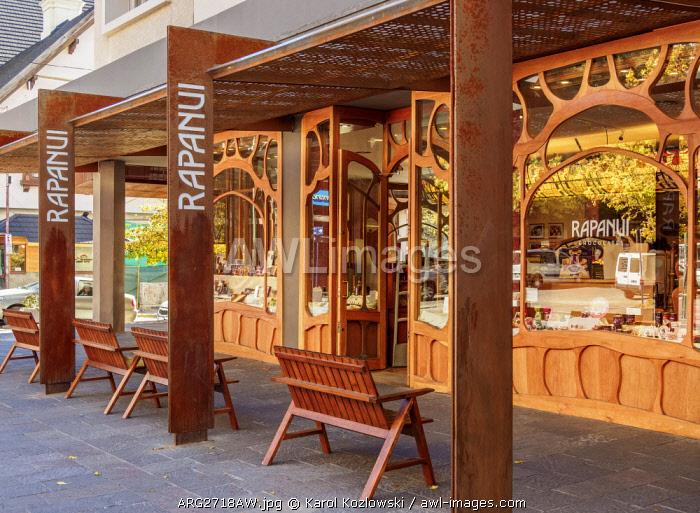 Rapa Nui Chocolate Shop, San Carlos de Bariloche, Nahuel Huapi National Park, Rio Negro Province, Argentina