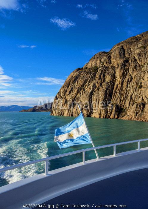 Lake Argentino, Los Glaciares National Park, Santa Cruz Province, Patagonia, Argentina