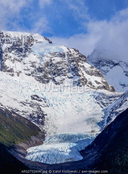 Seco Glacier, Los Glaciares National Park, Santa Cruz Province, Patagonia, Argentina