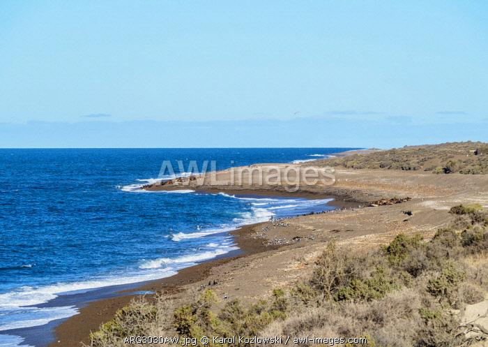 Punta Norte, Valdes Peninsula, UNESCO World Heritage Site, Chubut Province, Patagonia, Argentina