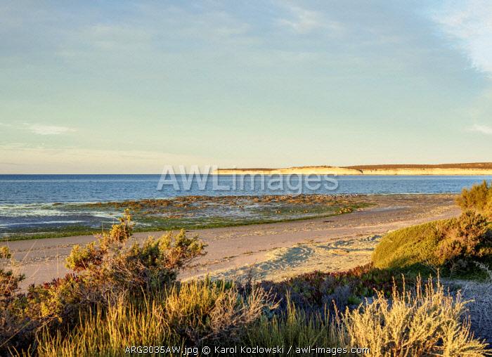 San Jose Gulf, Valdes Peninsula, UNESCO World Heritage Site, Chubut Province, Patagonia, Argentina