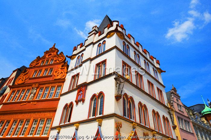 Steipe at Hauptmarkt, Trier, Rhineland-Palatinate, Germany