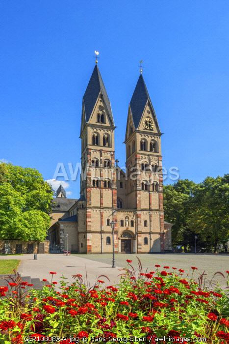 Basilica St. Kastor, Koblenz, Rhineland-Palatinate, Germany