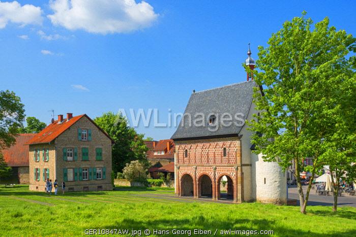 Kings hall at Lorsch monastry, Lorsch, UNESCO World Heritage Site, Hessen, Germany