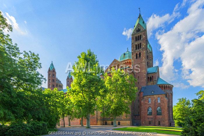 Dom cathedral, UNESCO World Heritage Site, Speyer, Rheinland-Pfalz, Germany
