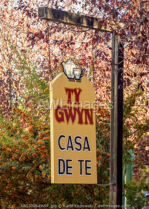 Welsh Tea House Ty Gwyn, Gaiman, The Welsh Settlement, Chubut Province, Patagonia, Argentina