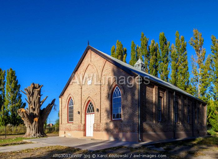 New Bethel Chapel, Gaiman, The Welsh Settlement, Chubut Province, Patagonia, Argentina