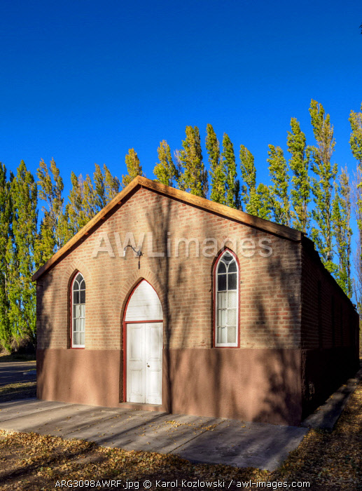 Old Bethel Chapel, Gaiman, The Welsh Settlement, Chubut Province, Patagonia, Argentina