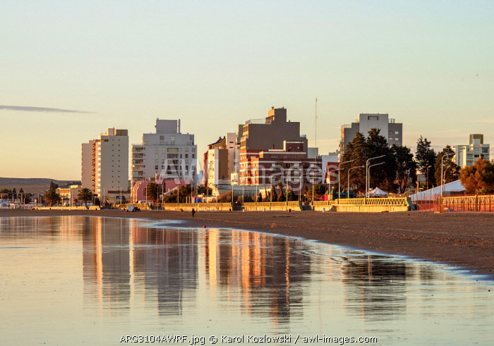 Beach in Puerto Madryn, The Welsh Settlement, Chubut Province, Patagonia, Argentina