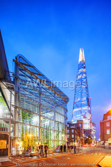Europe, United Kingdom, England, London, The Shard designed by Renzo Piano