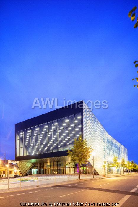 Europe, Germany, Brandenburg, Berlin, Futurium exhibition center by architects Richter Musikowski