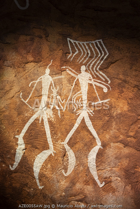 Hunters. Gobustan Rock Art Cultural Landscape Reserve Museum. This reserve has an outstanding collection of more than 6.000 rock engravings bearing testimony to 40.000 years of rock art. Gobustan, A Unesco World Heritage Site. Azerbaijan