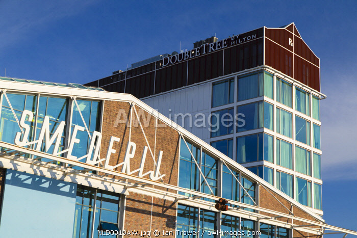 Double Tree Hotel at NDSM cultural centre, Amsterdam, Noord Holland, Netherlands