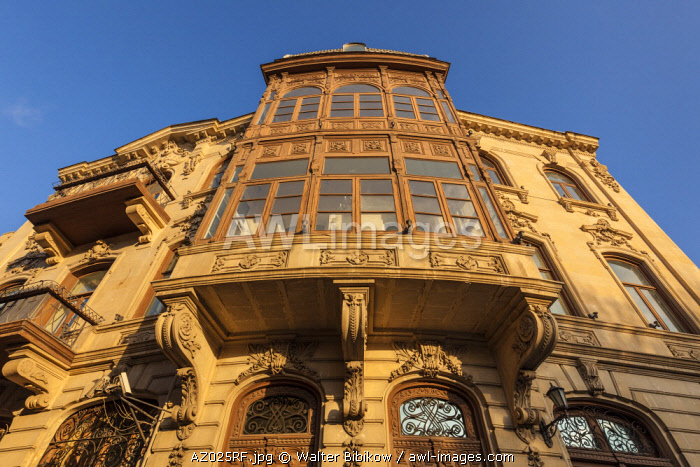Azerbaijan, Baku, Old City, traditional architecture
