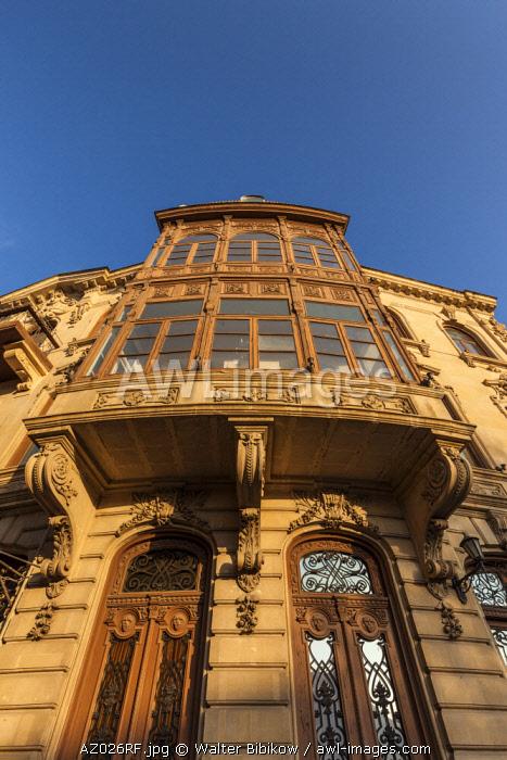 Azerbaijan, Baku, Old City, traditional architecture