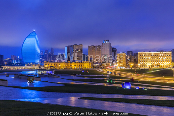 Azerbaijan, Baku, Trump Hotel and Tower