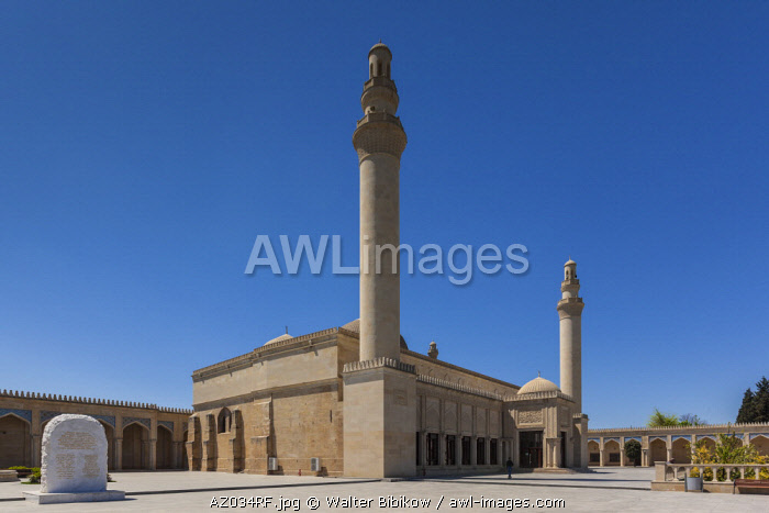 Azerbaijan, Samaxi, Juma Mosque or Friday Mosque