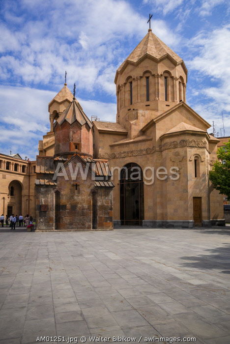 Armenia, Yerevan, Katoghike church, 13th century