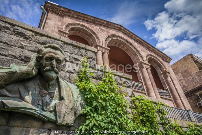 Armenia, Yerevan, home museum of Hovhannes Tumanyan, greatest Armenian poet