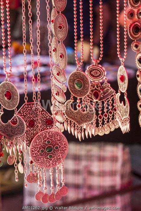 Armenia, Yerevan, Vernissage Market, jewelry