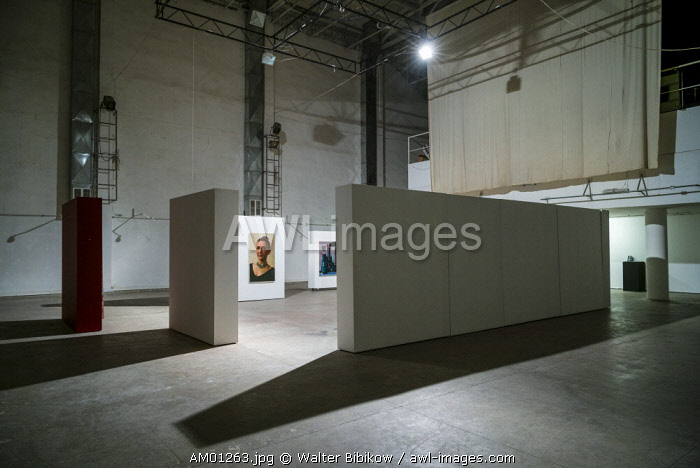 Armenia, Yerevan, Armenian Center for Experimental Art, gallery interior