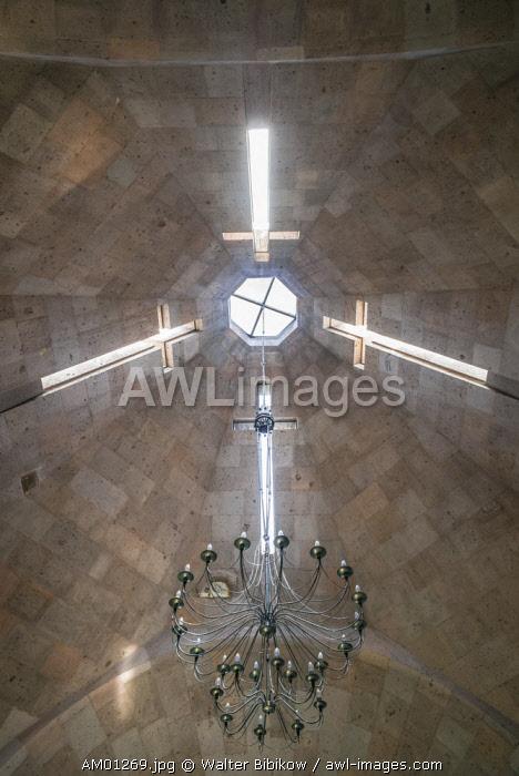 Armenia, Vagharshapat-Echmiadzin, Mother See of Holy Echmiadzin, main complex of the Armenian Apostolic Church, small chapel