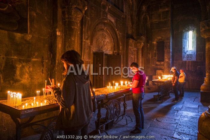 Armenia, Geghard, Geghard Monastery, Surp Astvatsatsin Church, 13th century