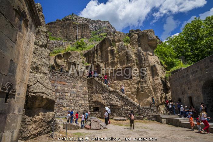 Armenia, Geghard Monastery, cave church