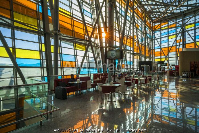 Armenia, Yerevan, Yerevan Zvarnots Airport, EVN, terminal interior