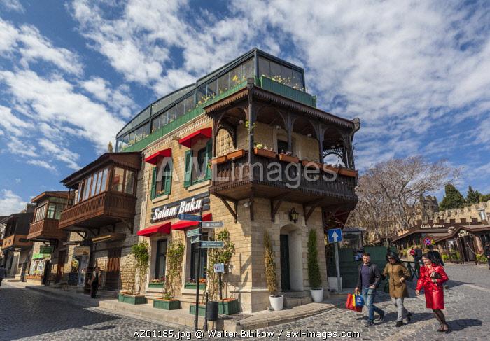 Azerbaijan, Baku, Old City, architecture