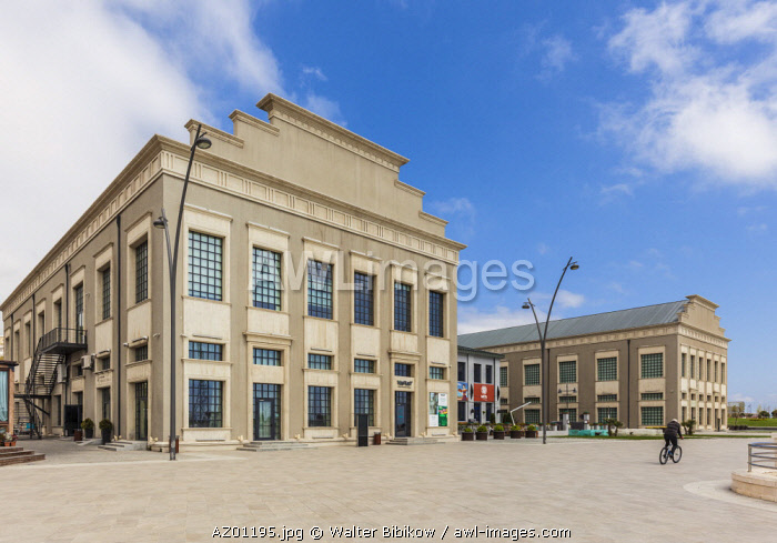 Azerbaijan, Baku, Yarat Contemporary Art Center, located in former Soviet Navy Building