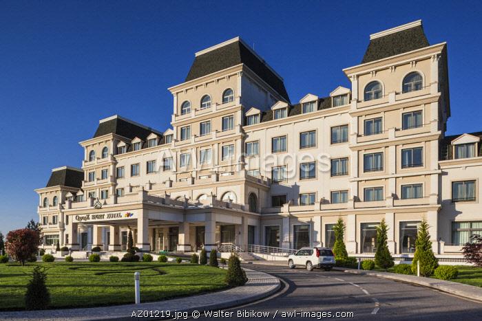 Azerbaijan, Qabala, Gabala, Qafqaz Sport Hotel