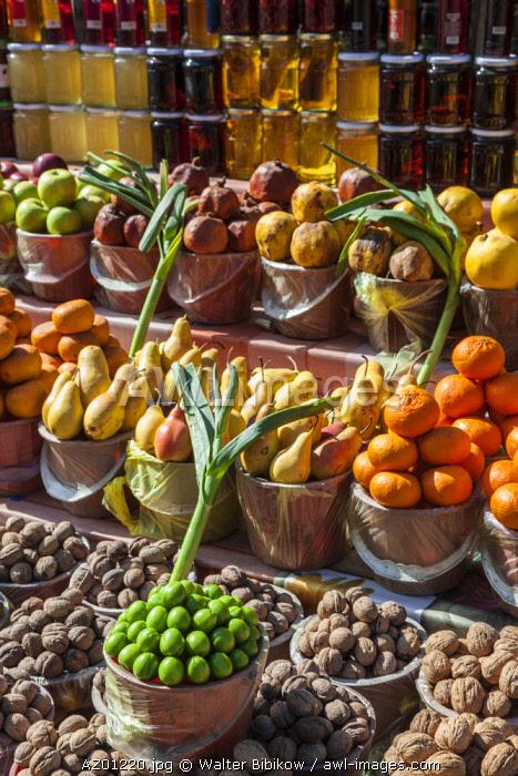 Azerbaijan, Vandam, fruit market