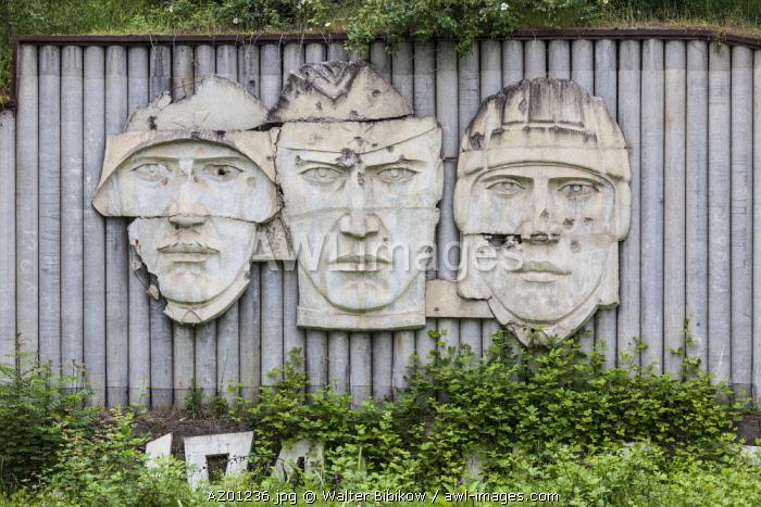 Azerbaijan, Nagorno Karabakh Republic (Armenian autonomus region),  Shushi, Soviet-era War Memorial