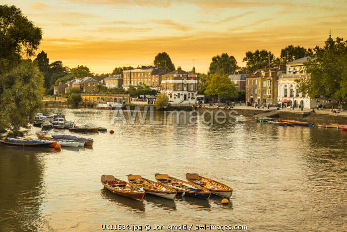 River Thames, Richmond, London, England, UK
