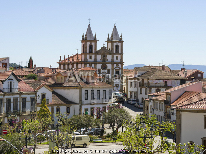 Village Vila Flor located on the hills high above river Douro. It is the wine growing area Alto Douro and listed as UNESCO World Heritage Site. Portugal