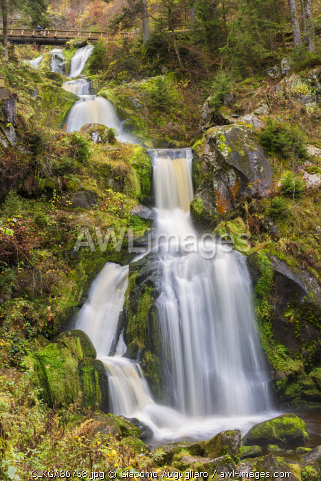 awl-images.com - Germany / Triberg waterfalls, Triberg, Black forest region, Baden-Württemberg, Germany