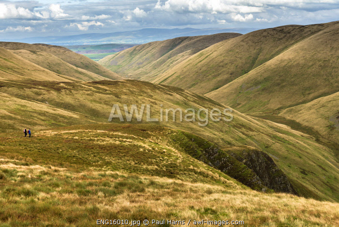 awl-images.com - England / England, Yorkshire Dales National Park, Walking in the Howgill Hills